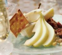 Gorgonzola met peren, vijgen en noten
