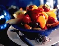 Vruchtencocktail met portsaus